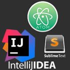 Atom-(IDE),-IntelliJ-Idea,-Sublime-Text