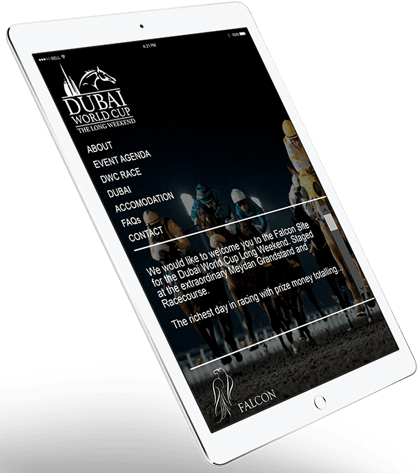 dubai-world-cup-wordpress-project-3d-floating-ipad